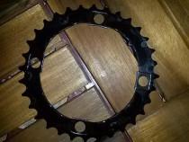 Foaie placa angrenaj bicicleta 32 dinti 4 gauri