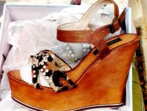 Platforme Sergio Todzi 39-40 Sandale Pantofi Stiletto Dama