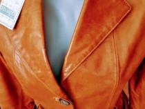 Geci piele naturala 100%/accesorii metalice/Italia(S M L