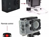 Camera actiune 4K (senzor SONY), subacvatica 30m, auto, moto