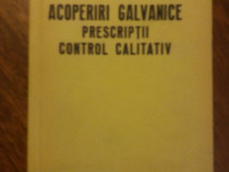 Acoperiri galvanice, Prescriptii, Control calitativ / R1F
