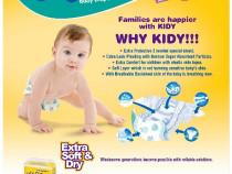 Scutece Kidy Baby 15-30 kg