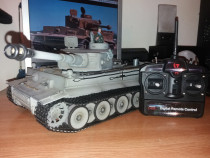 Taigen Hand Painted RC Tank Early Version Tiger I Grey Camo