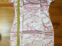 Rochie traditionala chinezeasca - roz