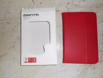 """Husa pentru tableta universala 7"""", rosie, model MANTA MTE70"""