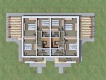 Apartament 4 camere complex de case de lux, Breazu