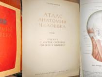 Atlas Anatomie umana URSS 1972.