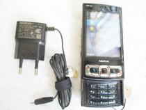 Telefon Nokia N95 8G necodat cu incarcator curea piele