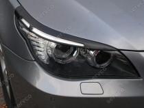 Pleoape ornamente faruri BMW E60 E61 Seria 5 2004-2013 v1
