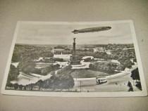 L.Z.127 Graf Zeppelin Piatia Republicii, Berlin, Germania.