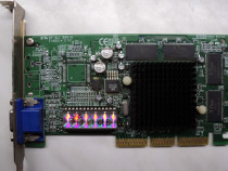 Placa Video AGP GeForce2 MX-400 64 Mb