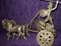 Car de lupta Spartan bronz masiv