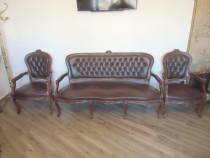 Canapea 3 locuri cu 2 fotolii
