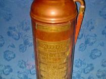 7920-Stingator mare Pompieri vechi 1914 bronz KIDDE USA..