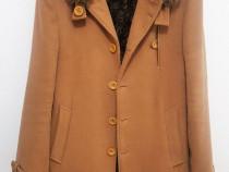 Palton Crem barbati - Marimea M - 100% Bumbac