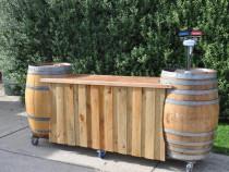 Bar din Butoi Aella - Mobilier pentru Cramă