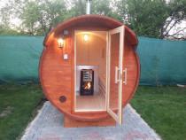 Sauna Butoi - placere, sanatate, relaxare
