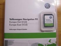 VW Skoda Seat SD RNS310 East Europe V10