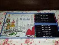 Set de colorat antistres Franța, sigilat