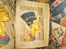 Set 2 Papirisuri vintage Zeii Egiptului antic dupa originale