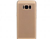 Husa Plastic Samsung Galaxy S8 g950 Mesh Gold PRODUS NOU