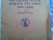 Carte Documente slavo-romane din Sibiu 1470 - 1653
