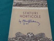 Sfaturi horticole/ 1953