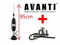 Set Prindere Fixa Haion Antena Radio CB Avanti Volo 95cm