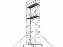 Inchiriez schela cu rote inaltime de lucru pana la 10,5 m.