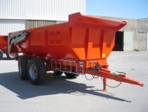 Remorca pentru tractor pentru materiale grele