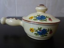 Vas din ceramica cu capac,Winterling Feinkeramik Germany Gep