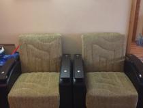 Set canapea cu 2 fotolii
