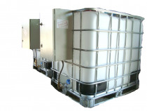Bazin IBC rezervor cu pompa motorina