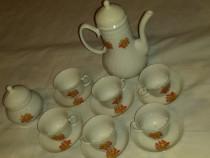 Serviciu de cafea din porțelan cu 16 piese