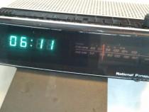 National Panasonic AM-FM Clock Radio RC-100BS