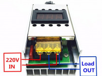 Variator tensiune regulator turatie motor curent alternativ
