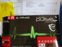 Placa video Sapphire Pulse RX550 2gb ddr5 noua factura