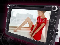 Navigatie Auto VW Skoda Seat Noua Casetofon DVD GPS 8inch