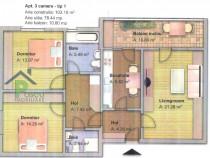 Apartament 3 camere Fundeni, Dobroiesti, str. Parului, 90mp