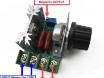 Variator de tensiune regulator turatie 220V motor electric