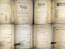 Paris-Ghid Hachette 1907-1908 cu multe reclame-Guides Joanne
