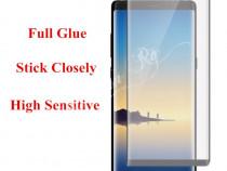 Folie sticla securizata curbata full adeziv - samsung note 8