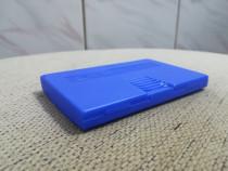 Suport albastru din plastic carti / carte de vizita - Nou
