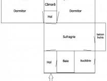 Schimb apartament 3 camere Gh. Lazar, Favorit, Dacia