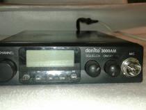 Statie auto Danita 3000 si antena auto Avanti Carera