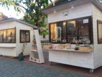 Casuta lemn, chiosc, ghereta, toneta mobila, street food