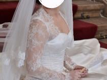 Rochie mireasa(ivory)- marime 38-40