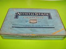 Cutie Tigarette veche B&W Nord State, metal, inainte de razb