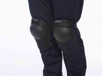 Genunchiere protectie,negre,ajustabile cu scai,set 2 bucati