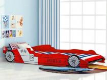 Pat pentru copii mașină de curse (244464)